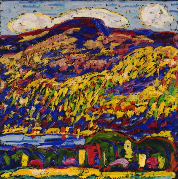 Marsden Hartley: Bergsee, Herbst, um 1910, The Phillips Collection, Washington, D. C.